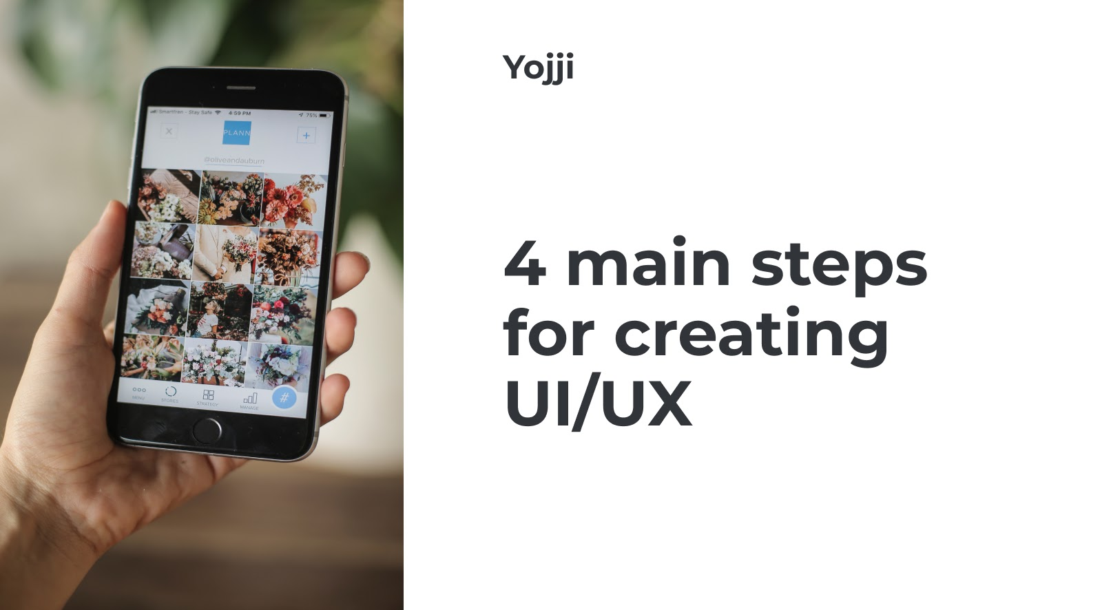 4 main steps for creating UI/UX: the structure of the design process